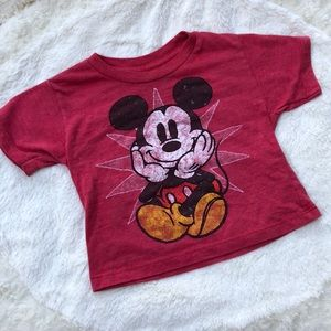 Disney Red Mickey Mouse T-shirt